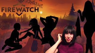 NUDE TEEN GIRLS SKINNY DIPPING | Firewatch - Let's Play - PART 2