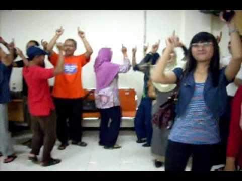 Student of GMC (Genius Mind Consultancy) Indonesia doing ...