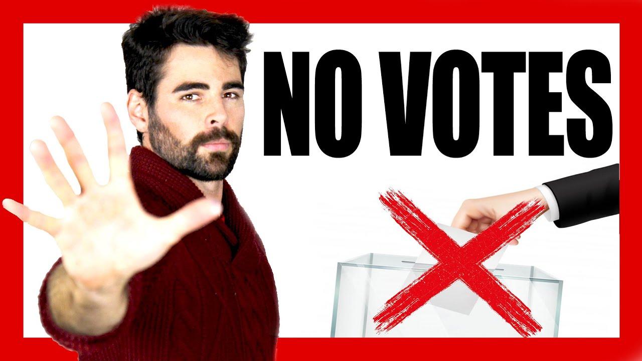 5 RAZONES para NO VOTAR en España