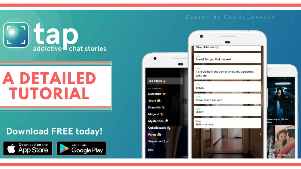 How To Create Chat Stories Using Tap by Wattpad | Full Tutorial