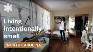 Intentionally small home: urban living in North Carolina