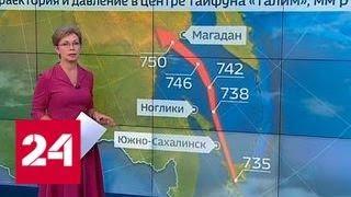 Погода 24   на юге Курил бушует ураган   Россия 24
