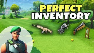 What Is My Perfect Inventory To Win? | Fortnite Best Setup