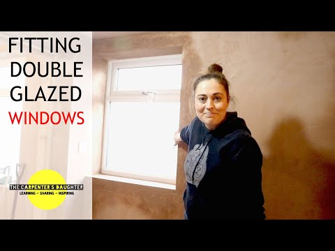 Fitting Double Glazed Windows | The Carpenter's Daughter