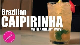 CAIPIRINHA | SPICED CAIPIRINHA COCKTAIL | BRAZILIAN COCKTAIL
