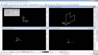 Bentley MicroStation V8i 3D Tutorial | Drawing A Step Block