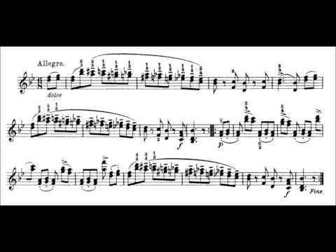 Niccolò Paganini - Caprice for Solo Violin, Op. 1 No. 13 (Sheet Music)