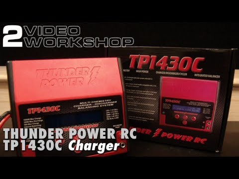 Quick Clinic - Thunder Power RC TP1430C, Programming and Operation