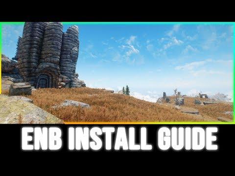Skyrim Special Edition - How To Install ENB Mods Tutorial!