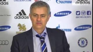 Jose Mourinho: Andy Carroll's reaction...