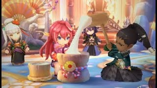 New Years Tidings ~ Fortune from Afar Story Intro - Dragalia Lost Cultural Appreciation