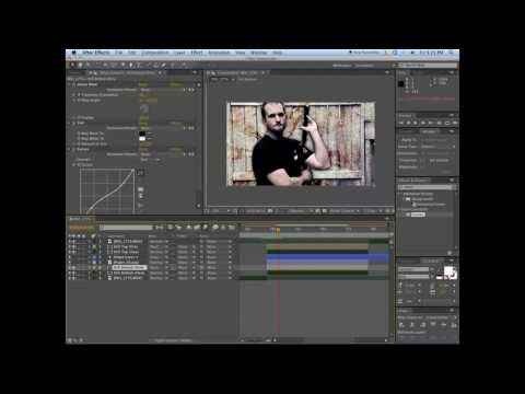 Freeze Frame Titles - Adobe After Effects Tutorial