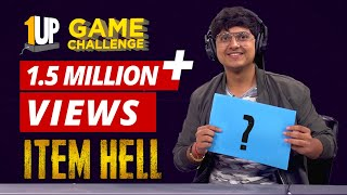Item Hell Challenge with MortaL | 1Up Game Challenge | PUBG Mobile