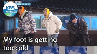 My foot is getting too cold (2 Days & 1 Night Season 4) | KBS WORLD TV 210117