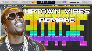 Meek Mill - Uptown Vibes Instrumental Remake (Production Tutorial) ft. Fabolous & Anuel AA