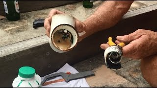 How To / The Best way to remove glued PVC pipe.  Reuse the fitting.  Easy!