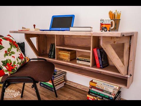 creative-grey---wall-mounted-folding-desk-type-ii