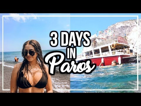 EPIC SAILING TOUR OF PAROS, GREECE! | Blue Lagoon, Cliff Jumping, Secluded Beaches, & Snorkeling!