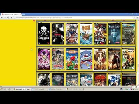 เว็บโหลดเกมส์ psp มีเกมส์มากมายและสนุกสุดๆ