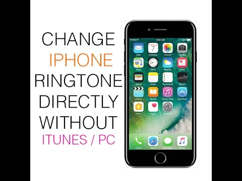 how to change ringtone on iphone from itunes