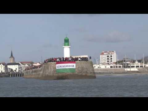 Vendée Globe´. Llegada del húngaro Nandor Fa