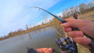ОБРЫБИЛ НОВЫЙ СПИННИНГ - Versus 802MLT! Весенний СУДАК на джиг! Рыбалка в апреле!