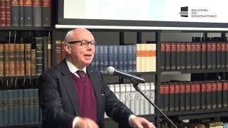 Markus C. Kerber: Ist Deutschland in guter Verfassung? Institutionelle Pathologien und ihre Heilung