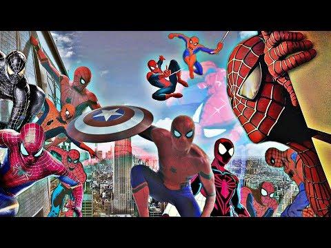 SpiderMan Film & TV 19672018 MegaTheme  2018 UPDATE