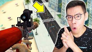 JADI PENEMBAK JITU! JANGAN SAMPAI SALAH TEMBAK!!! - Sniper 3D #1 screenshot 2