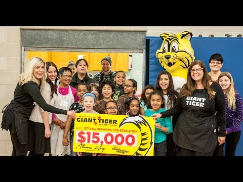 Giant Tiger Breakfast with the Ottawa Network for Education