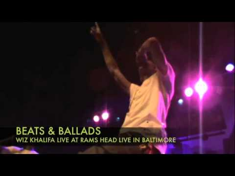 WIZ KHALIFA PERFORMS 'IN THE CUT' AT RAMS HEAD LIVE - BALTIMORE