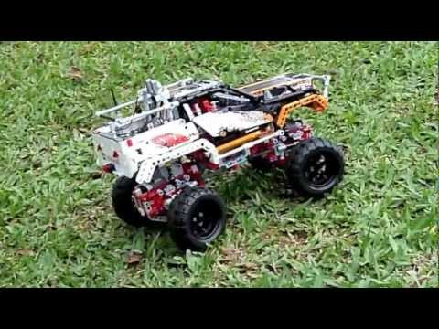 lego technic 9398 4x4 crawler radio control youtube. Black Bedroom Furniture Sets. Home Design Ideas