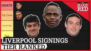 LIVERPOOL SIGNINGS TIER RANKED | Salah, Suarez, Carroll | Every FSG Player
