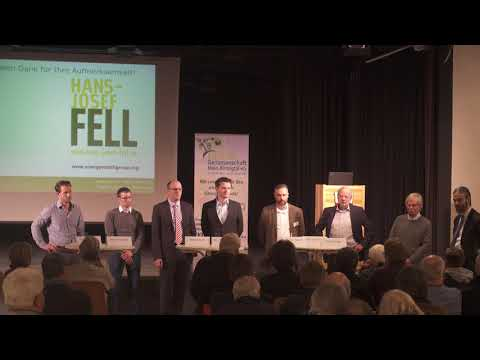 Vortrag Hans-Josef Fell - 3. Fragerunde an das Podium