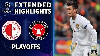 Slavia Prague vs. FC Midtjylland | Champions League highlights | UCL on CBS Sports