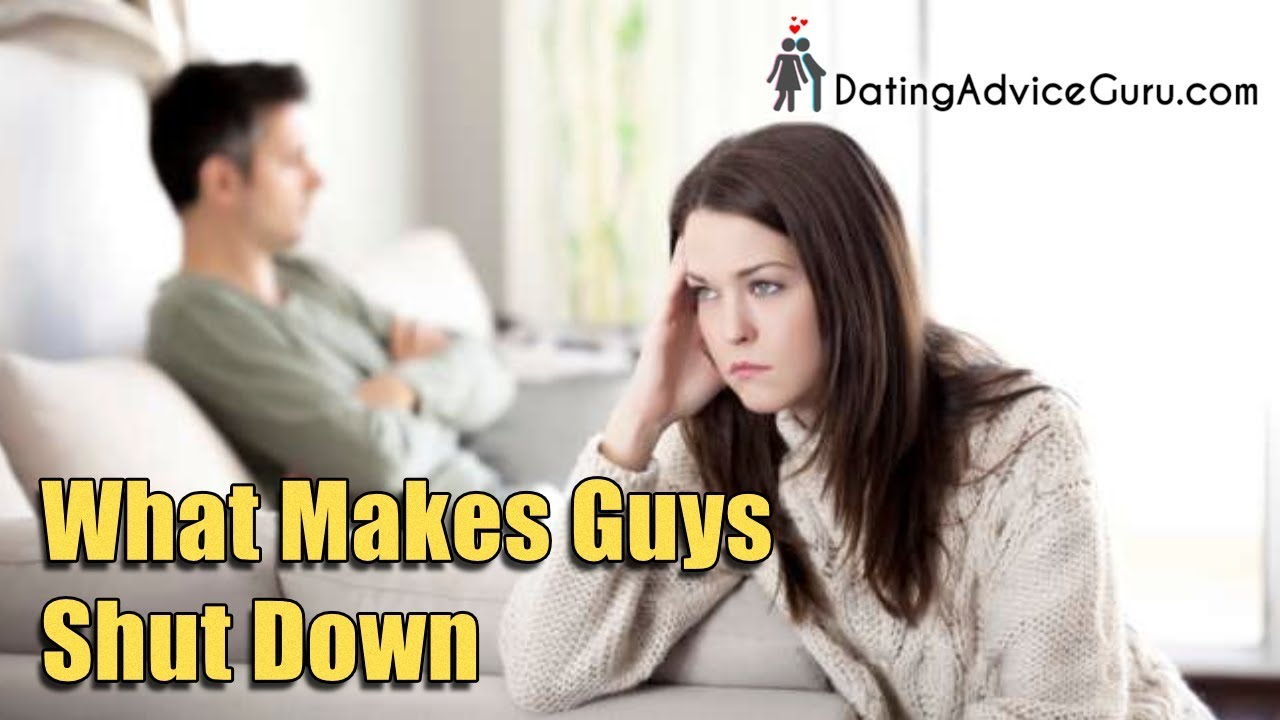 what to do when a guy withdraws