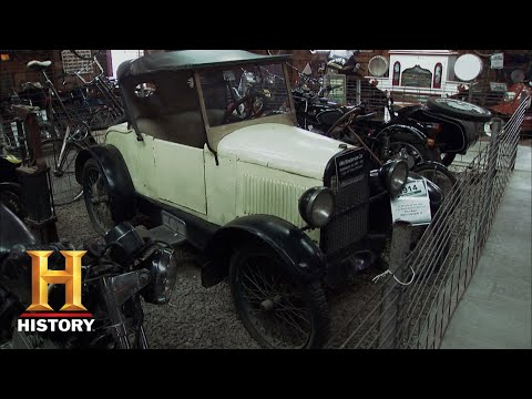 American Pickers: Mike Is A Man On A Mission For Cycle Car (Season 12) | History