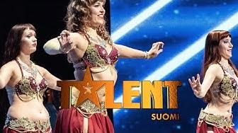 Zaray Dancers esittää modernia itämaista tanssia  | Talent Suomi | MTV3