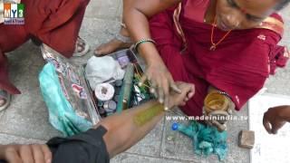 Indian Traditional Tattoo | Pachabottu  | Lifetime Tattoo |