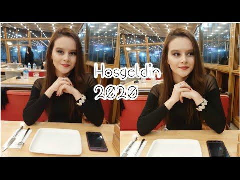 Yılbaşı Günü | Yılbaşı Makyajım HOŞGELDÍN 2020 ♥️