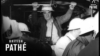 Opening Of The Mt Blanc Tunnel - France - Italy Border (1962)