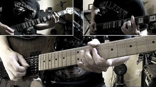 Iron Maiden - The Man Of Sorrows guitar cover with tabs