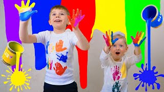 Colores Para Niños | Kids Learn Colors with Color T-SHIRT Educational video for Children