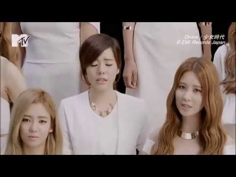 [PV] Divine - Girls' Generation (MTV Japan HD 1080p)