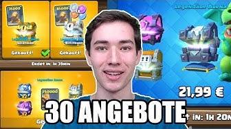💰30 ANGEBOTE KAUFEN! | Fast 1000€ Wert! | Ultra Pay2Win Account