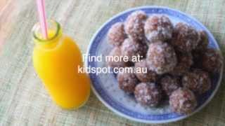 How To Make No Bake Coconut And Date Balls Recipe