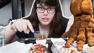Mukbang with a Mastodon at the Burke Museum preview!