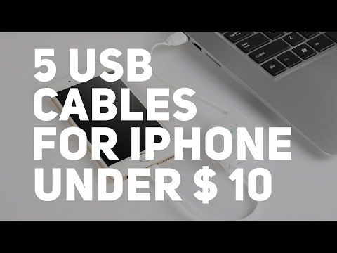 5 Cool Usb Cables for iPhone Under $10/Aliexpress
