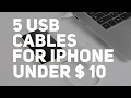 5 Cool Usb Cables For IPhone Under 10 Aliexpress mp3