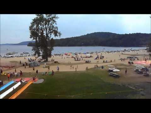 Camping du centre touristique du lac simon youtube for Camping lac du bourget piscine